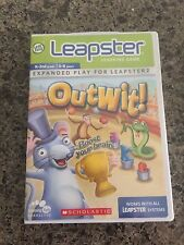Leapster Leap Frog Outwit Memory Game Cartridge K-2 5-8 Tested Brain Problem Sol