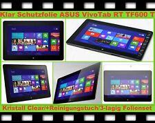 2x Klar Display Schutz Folie ASUS Vivo Tab RT TF600 TF600T Kratzfest Ultra Clear