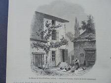1857 Stich 148 / Proudhon Prud`hon Cluny