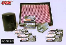 FALCON AU1-111 6CYL OIL AIR FUEL FILTER SERVICE+D/PLATINUM SPARK PLUGS 1998-2002
