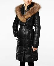 RUD by RUDSAK Women's Jasmine Long Luxurious Quilted Down Coat, Black, X-Large