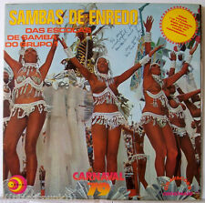 Sambas De Enredo Carnaval 79 Das Escolas Do Grupo RARE Brazil Vinyl LP Sexy Nude