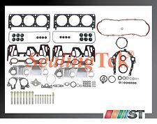 Fit 2000-03 GM 3100 3.1L OHV V6 VIN J Engine Full Gasket Set w/ Bolts Kit motor