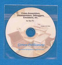 Software Cross Assembler, Emulator, Debugger collection