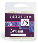 BACKSCRATCHERS NOUVEAU FRENCH WHITE 65 CT #9