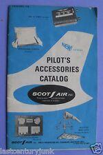Pilots Accessories Catalog Scot Air Inc 1960's ?