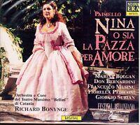 Paisiello: Nina / Richard Bonynge, Bolgan, Bernardini, Malu, Pedicont - CD