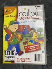 Caillou Vorschule Lernprogramm Lernspiel (PC)