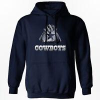 Dallas Cowboys - NFL Gloves Design Hoodie - S-2XL