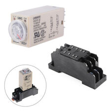 AC 220V H3Y-2 Time Delay Relay Solid State Timer 0-60S DPDT with Socket BI600
