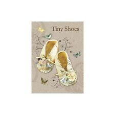 Hammond Gower Publications Baby Booties New Baby Card & Envelope by Tree Free
