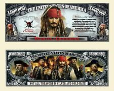 PIRATES DES CARAÏBES BILLET MILLION DOLLAR US ! JACK SPARROW JOHNNY DEPP Film