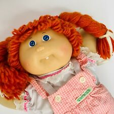 Vintage 1985 Cabbage Patch Kids Doll Red Hair Blue Eyes