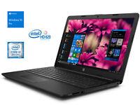 """HP 15.6"""" HD Laptop, i3-8130U, 16GB RAM, 512GB NVMe + 1TB HDD, DVDRW, Win 10 Pro"""