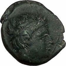 Philip II Alexander the Great Dad OLYMPIC GAMES Ancient Greek Coin Horse i42329