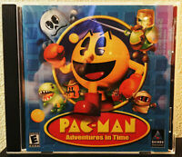 """Pac-Man - Adventures In Time"" 2000 PC Game Hasbro/Namco (Windows 95/98)"