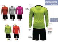 Completo Calcio da Portiere KIT HYGUANA GIVOVA con IMBOTTITURA 5 Colori a scelta