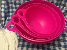 NEW Tupperware Thatsa Bowl 4 Piece Set! ON SALE! Limited Time! 4 Total Bowls!