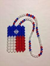 *Handmade* Texas Texan Flag for your car's mirror, necklace, or ?