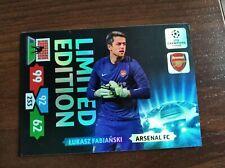 Champions League 2013 2014 ADRENALYN Łukasz Fabiański limited edition rare
