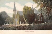 POSTCARD   BUCKINGHAMSHIRE     LATIMER   Church