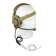 Z-Tactical HD-03 Bowman Elite II Headset Headphone Earpiece Yellow+Fast Track as