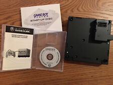Nintendo GameCube Game Boy Player Complete W/ Startup Disk & Instruction Booklet