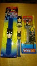 More details for 4x vintage batman pez & other candy sweets  dispensers collection dc comics