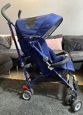 Maclaren BMW Stroller Limited Edition Navy Blue Pushchair RRP £524.99 Sale