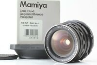 [MINT w/ Hood] MAMIYA SEKOR 50mm f/4.5 Wide Angle Lens for RB67 Pro S SD Japan