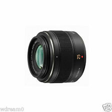 Dream New Panasonic LEICA DG SUMMILUX 25mm F1.4 ASPH H-X025 Lens( Black ) In Box