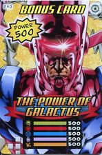 Spiderman Heroes And Villains Card #240 The Power Of Galactus