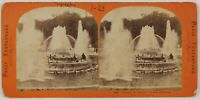 Parc Da Versailles Bassin Da Latona Francia Foto Stereo L6n61 Vintage Albumina