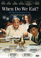 When Do We Eat (DVD, 2006)