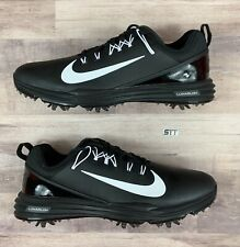 Women's Nike Lunar Command 2 Golf Shoes Black/White 9W Wide 880121-001 Mens 7.5W
