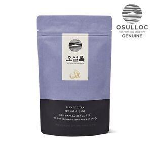 OSULLOC  Red Papaya Black tea  20ea Pyramid Tea Bags  made in KOREA