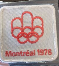 1976 Montreal Olympics Patch Emblem Souvenir Montreal Canada Vintage Olympic