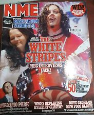NME MAGAZINE MAY 2005 - THE WHITE STRIPES- MAXIMO PARK- DAVE GROHL