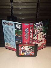 Daze Before Christmas Game for Sega Genesis! Cart and Box!