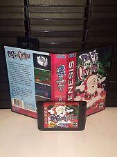Daze Before Christmas Game for Sega Genesis! Cart and Box!