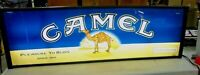 "Vintage Cigarette Double Sided Lighted Sign - SALEM and CAMEL Big 49"" x 15"" SALE"