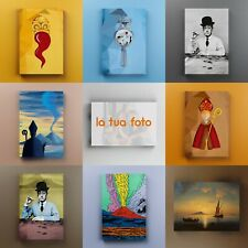 Quadri su Tela di Napoli - Stampa Foto su Canvas - Regalo Arredo Casa Moderno