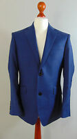 Italian Made AUSTIN REED Mens Navy Blue 100% Wool Suit Jacket 40S, 42S, 44L, 46R