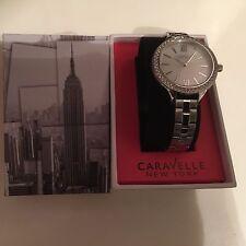 CARAVELLE York Carla Ladies Crystal Watch 43L165