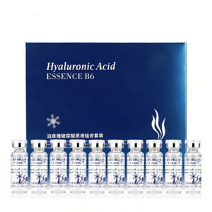 10pcs/lot Moisturizing Vitamins Hyaluronic Acid Facial Serum Skin Care