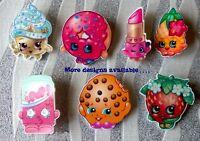 SHOPKINS Pretty Fun Cute Kitsch Girls PIN BADGE BROOCH Birthday Gift