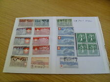 Switzerland 1938-39 catalogue value £60+ - Ref SW8