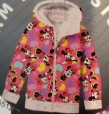 Disney Minnie Girls Character Fleece Lined Reversible Jacket  TINI {&}