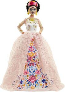 Barbie Signature Dia De Muertos 2020 Doll (12-in Brunette) in Dress Flower Crown