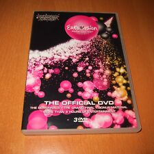 EUROVISION SONG CONTEST OSLO 2010 ( DVD , 3 DISC SET ALL REGION ) LIKE NEW !